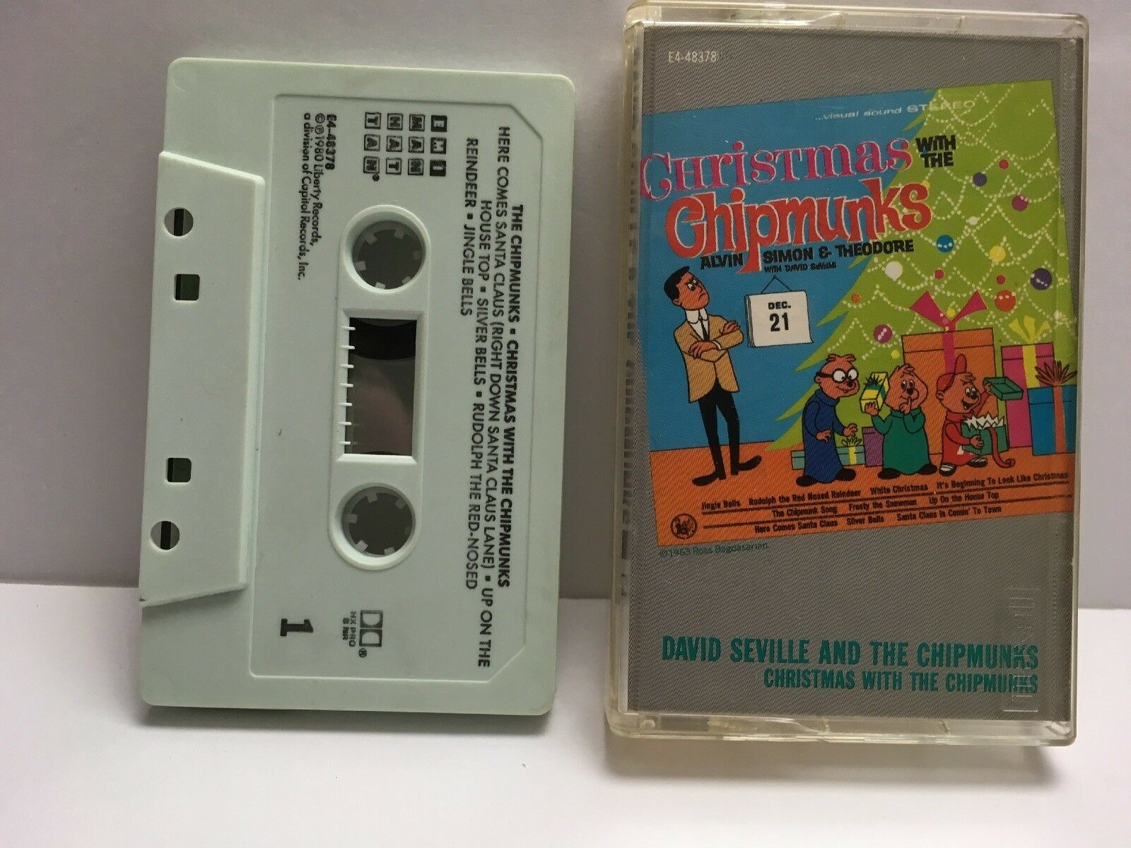 Primary image for The Chipmunks Christmas With The Chipmunks Cassette - 1980 Liberty Records