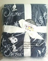 P EAN Uts Berkshire Velvetsoft Christmas Throw 55x70 New In Sealed Package #1 - $34.95