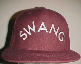 Swang Ridin' Dirty Adult Unisex Maroon White Acrylic Wool Cap One Size New - $27.71