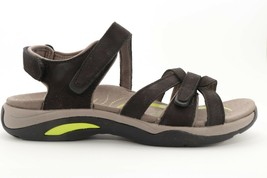 Abeo Caprice Sandals Black  Women's Size 8 Neutral Footbed ()5046 - $110.00