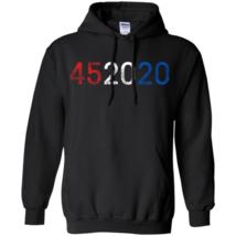 45 2020 Vote Trump Again Hoodie Unisex - $27.74+
