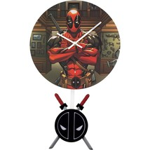 Deadpool Wall Clock Red - $32.98