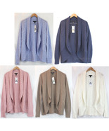 NWT Kenneth Cole New York Women Cardigan Ladies Open Front Shawl Sweater... - $39.99
