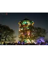 Patterson Park Pagoda Lighting - Green - $45.00