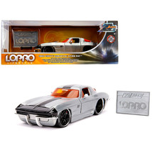 New 1963 Chevrolet Corvette Sting Ray Raw Metal with Black Stripe LOPRO ... - $50.45