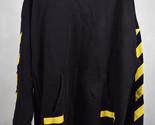 Off-White X Champion Hoodie Jacket Yellow Black XL Mens