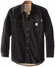 Carhartt Men's Big & Tall Flame Resistant Canvas Shirt Jacket - $194.24+