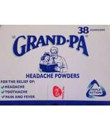 Grandpa headache powders *Buy two get one free* - $24.00