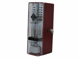 Wittner Taktell Piccolo Keywound Metronome Ruby Red #834 New with Free Shipping