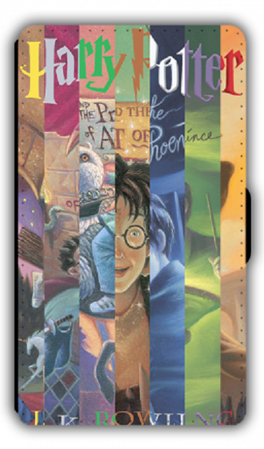 Primary image for Harry Potter inspired designed PU Leather Wallet iPhone Phone Case