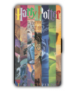 Harry Potter inspired designed PU Leather Wallet iPhone Phone Case - $15.47