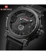 NAVIFORCE Top Luxury Brand Men Sports Military Quartz Watch Man Analog D... - $36.99