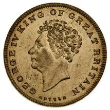 1830 Gran Bretaña George IV Beloved & Lamented Hervidor Token Au Estado - $84.14
