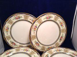 Antique Set of 6 Porcelain Plates by Pareek Johnson Bros England image 3