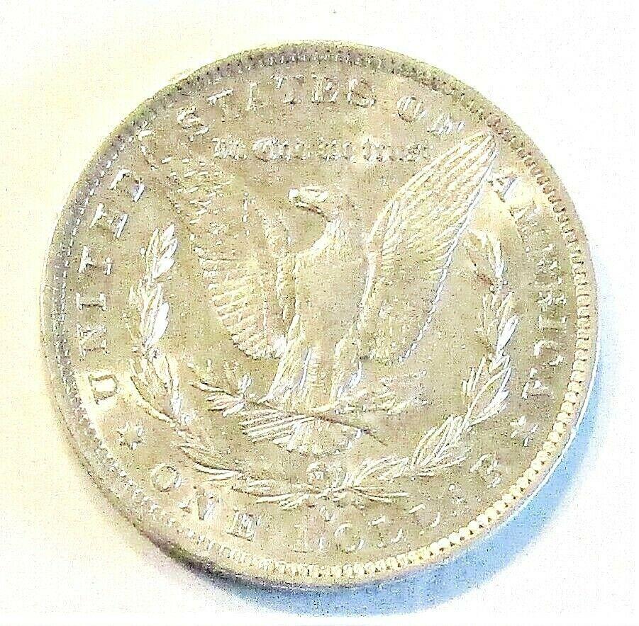 1884 O MORGAN SILVER DOLLAR  (BU)  MS++ #200105 image 2