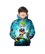 Ben 10 Kid 3D Hoodie Sep Series Pullover Sweatshirt Pattern B - $19.99