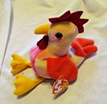 Ty Beanie Baby Strut 1996 5th Generation Hang Tag PVC Filled  - $4.94