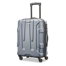 Samsonite Centric Expandable Hardside Carry On Luggage with Spinner Wheels, 20 I - $99.41