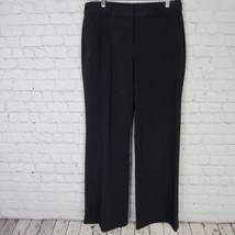 Liz Claiborne Hose Damen Größe 12 Schwarz Businesskleid Hose Hosen - $16.25