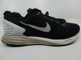 Nike Lunarglide 6 Size US 11 M (D) EU 45 Men's Running Shoes Black 654433-001