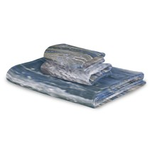 3 Piece Towel Set Dolphin Leap Out Of The Blue Waters Towel Quick Dry Set - $49.99