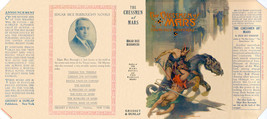 Edgar Rice Burroughs THE CHESSMEN OF MARS facsimile jacket - 1st Grosset ed - $21.56