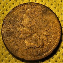 1877 Indian Head Cent. Key date to the series! - $220.00