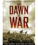 The Dawn of War: The Early Battles of WWII (WW2) DVD 2011, Documentary 9... - $9.99
