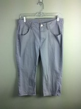 Riders by Lee Gray Capri Pants Casual Women's Size 12M - $13.09