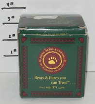 "1993 Boyds Bears The Bearstone Collection ""wilson with love sonnets"" #2007 - $32.73"