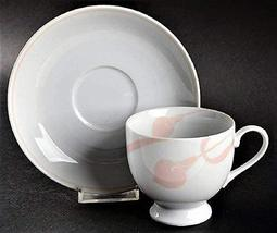 Mikasa Classic Flair Peach Cup and Saucer Set - $18.80