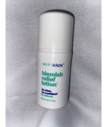 SkinKick Blemish Relief Lotion .5oz Vegan Calms Soothes NEW Fragrance Fr... - $8.09