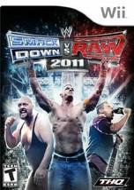 WWE SmackDown vs. Raw 2011 - Nintendo Wii [video game] - $9.17