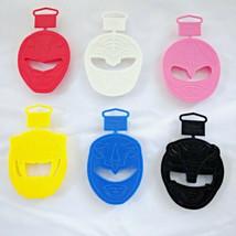 Wilton Power Rangers Cookie Cutters Full Set Lot 6 Colors Vintage New Ol... - $44.95