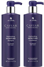 Alterna Caviar Anti Aging Replenishing Moisture Shampoo & Conditioner - ... - $61.88