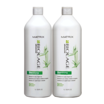 Matrix Biolage FiberStrong Shampoo Conditioner for Fragile Hair 33.8 oz Duo - $35.97
