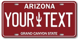 Arizona Old Style  ANY TEXT Your Personalized Aluminum License Plate Tag... - $14.84
