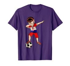 Brother Shirts - Dabbing Soccer Boy Croatia Jersey Shirt - Football Tee Gift Men - $19.95+