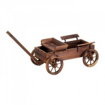 Old World Planter Wagon - $97.69