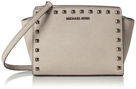 Michael Kors Women's Medium Selma Studded Leath... - $223.20