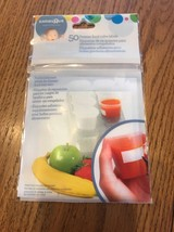 Babies R Us Freezer Food Tray Labels - 50 Count Ships N 24h - $4.95
