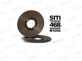 "RTM SM468 AGFA PEM468 Reel Master Tape 1/4"" 3280ft 1000m PANCAKE Authori... - $52.47"