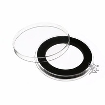 Air-Tite Brand Y46mm Black Ring Coin Capsule Holders Qty: 3 - $11.95