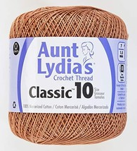 Coats Crochet Classic Crochet Thread, 1 Pack, Copper Mist - $6.92