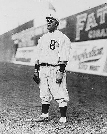 Casey Stengel playing outfield for Brooklyn Dodgers baseball 1915 Photo Print