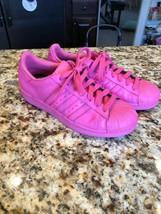 Adidas Original X Pharrell Williams Superstar Supercolor Pink Size 8 - $104.00