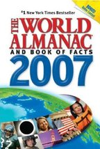 The World Almanac and Book of Facts, 2007 (World Almanac and Book of Fac... - $1.75