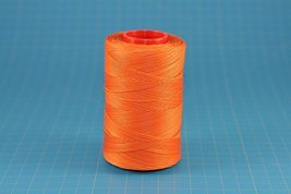 25m of ORANGE RITZA 25 Tiger Wax Thread for Leather Hand Sewing 4 Sizes Availabl - $5.00