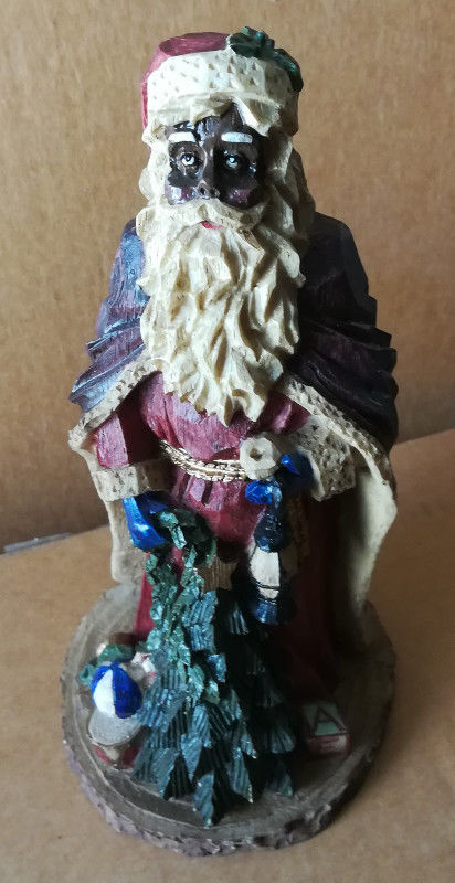 Black Santa Claus Statue Christmas Holiday Holiday Collection 15