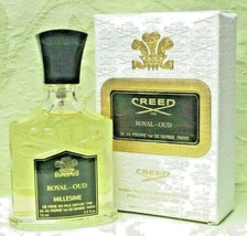 Creed ROYAL OUD (2.5oz/75ml) Eau De Parfum (Box Little Spotted/Batch A43... - $346.39